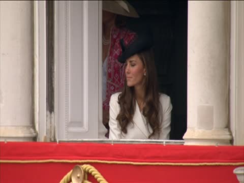 Duchess of Cambridge at Trooping of the Colour ceremony