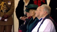 Duchess of Cornwall unveils Sir Keith Park statue ENGLAND Kent Folkestone EXT Air Cadets in lineup/ Camilla Duchess of Cornwall along with Lord...