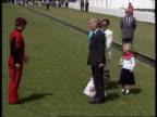 Duchess of York attends Gulf charity polo match Prince Charles plays ENGLAND Berks Royal Berks Polo Club MS Sarah Duchess of York along with Princess...
