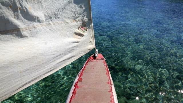 Dugout Canoe Ride on Isle of Pines, New Caledonia