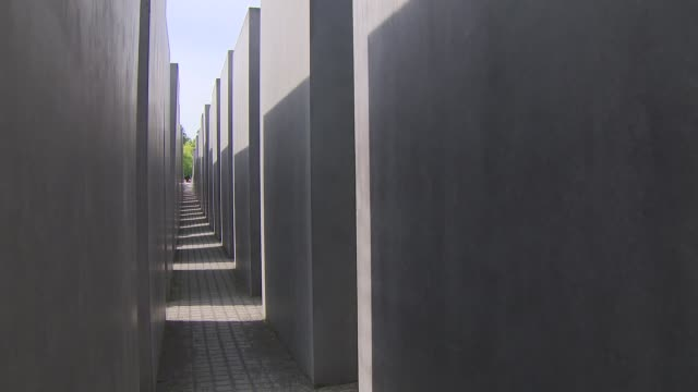 Duke and Duchess of Cambridge visit Berlin Holocaust Memorial Berlin Holocaust Memorial GVs Berlin Holocaust Memorial Prince William Duke of...
