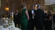 Duke of Cambridge at Tusk Conservation Awards ENGLAND London Claridge's PHOTOGRAPHY*** Duke of Cambridge chats with guests in evening wear / Deborah...