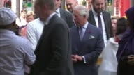 Duke of Edinburgh admitted to hospital with infection London Finsbury Park Muslim Welfare House Prince Charles Prince of Wales arrival at Muslim...