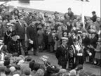 Duke of Edinburgh opens new Deal pier ENGLAND Kent deal EXT Crowd watching as members of the town council arrive for the ceremony to open the new...