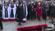 BROLL Duke of Edinburgh Prince Harry at Westminster Abbey on November 05 2015 in London England
