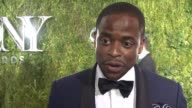 INTERVIEW Dulé Hill on recapturing his love for the theater at 2015 Tony Awards Arrivals at Radio City Music Hall on June 07 2015 in New York City
