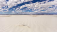 Dunes of White Sands National Park - Time Lapse