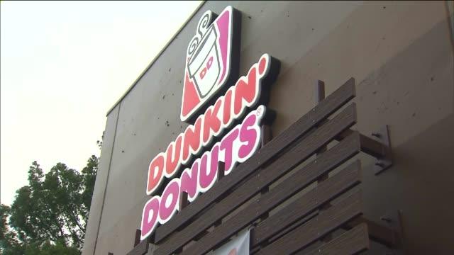 KTLA Dunkin' Donuts Opening in Encino on June 9 2015