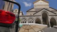 Duomo di Amalfi and Duomo Piazza, Amalfi, Costiera Amalfitana (Amalfi Coast), UNESCO World Heritage Site, Campania, Italy, Europe
