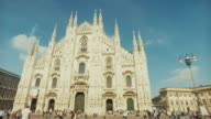 Duomo di Milano church, in Italy