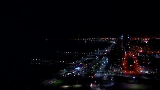 WS HA Durban harbor at night / Durban/ South Africa