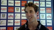 Will Smith interview ENGLANDCounty Durham Durham Riverside Ground INT Will Smith interview SOT Has been looking forward to new season ever since he...