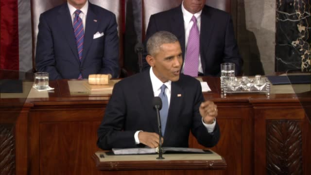 During 2015 State of the Union President tells Congress of living on low wages 'try it'
