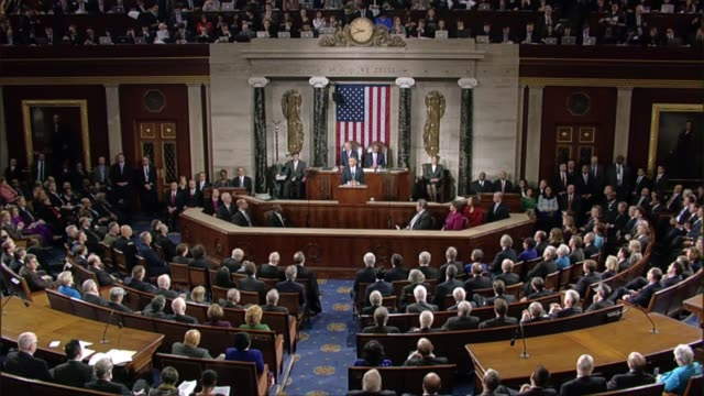 During State of the Union address in January 2015 President aimed to 'maintain the conditions of growth'