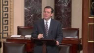During the Keystone XL debate Senator Cruz attacked political donations 'over jobs for union members'