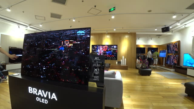 During the May Day golden week the SONY A1 series won China's OLED TV sales championship with a share of more than 30% From 2017 to 2020 China's OLED...