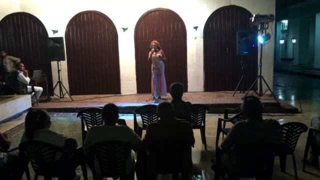 During the Summer months free cultural presentations are common in pedestrian areas of the Cuban cities It is part of the government plan to spread...