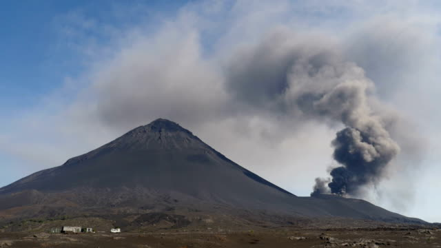 During this eruption the village Portela was destroyed by a lava flow