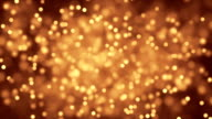Dust particles twinkling film
