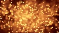 Staub Partikel funkelnden film
