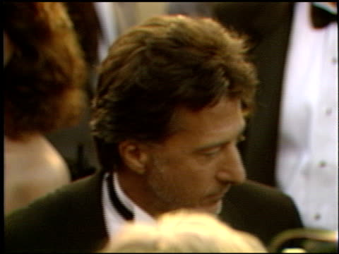 Dustin Hoffman at the 1989 Academy Awards at the Shrine Auditorium in Los Angeles California on March 29 1989