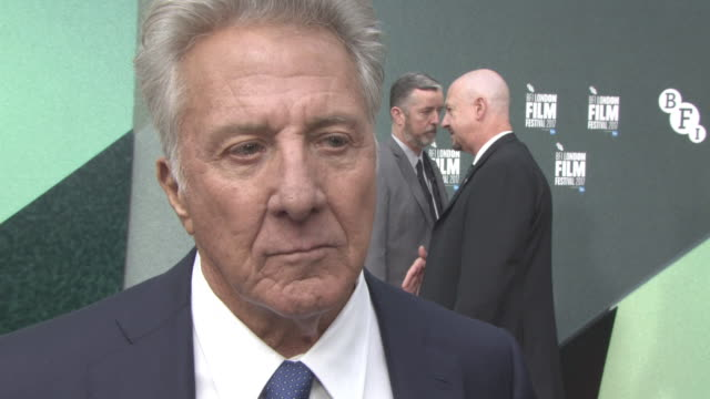 INTERVIEW Dustin Hoffman on his character if that type of character is more common in artistic families at 'The Meyerowitz Stories' UK Premiere 61st...
