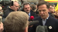 Dutch Prime Minister Mark Rutte saying 'we did not seek this fight with Turkey' and that the Netherlands 'will never negotiate under threat we will...