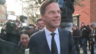 Dutch Prime Minister Mark Rutte says that the population has a choice between the wrong sort of populism and politics which is really trying to solve...