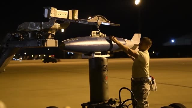 Dyess Airmen participate in Exercise Global Thunder GT18 is an annual command and control exercise designed to train US Strategic Command forces and...