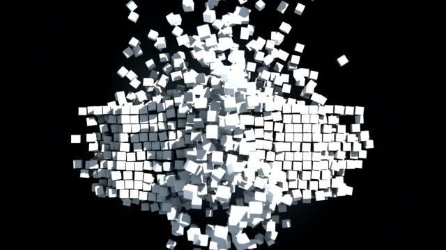 Dynamic cubes explosion