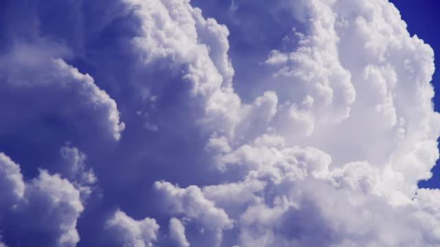 Dynamic movement of cumulonimbus cloud