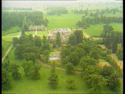 Earl Spencer separated TX AIRV Althorp Hall and estate NAT