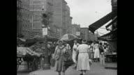 Early 1940s Lower Manhattan Street Scene