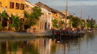 Early evening view of Hoi An old town, UNESCO World Heritage Site, Vietnam, Asia