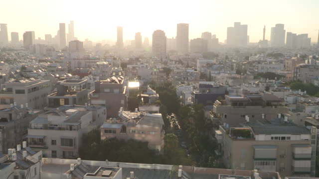 Early Morning Skyline, Tel Aviv, Israel