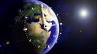 Earth 02 Clock