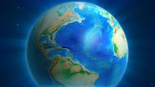 Earth Animation: USA view