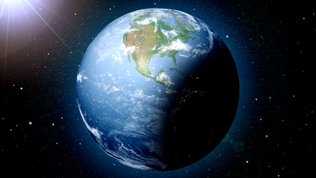 Earth Day And Night Loop Stock Footage Video | Getty Images