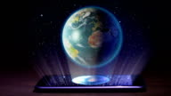 Earth hologram