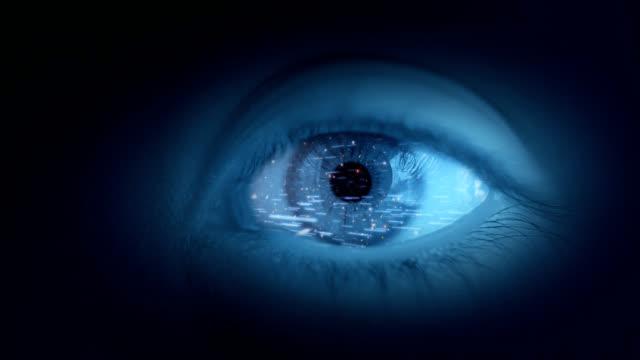 Earth in eye
