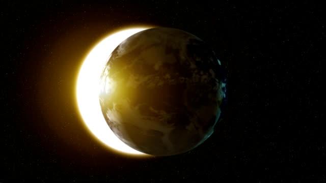 Earth Solar Eclipse