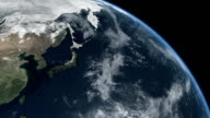Earth Top Q6 Pacific Ocean Asia