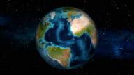Earth Zoom In - Barbados - Bridgetown