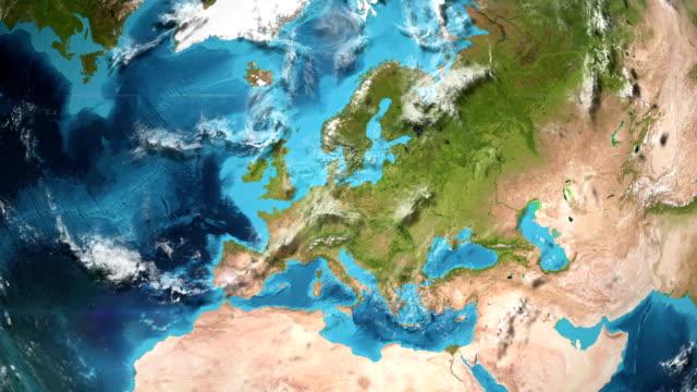Earth Zoom In - Berlin Germany