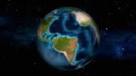 Earth Zoom In - Ecuador - Quito