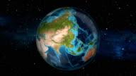 Earth Zoom In - India - New Delhi