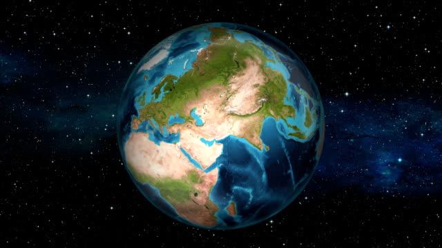 Earth Zoom In - Israel - Jerusalem