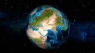 Earth Zoom In - Jordan - Amman
