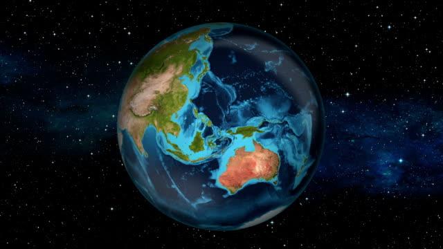 Earth Zoom In - Malaysia - Kuala Lumpur