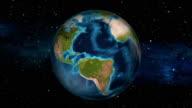 Earth Zoom In - Panama - Panama City